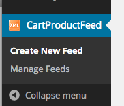 cart product feed