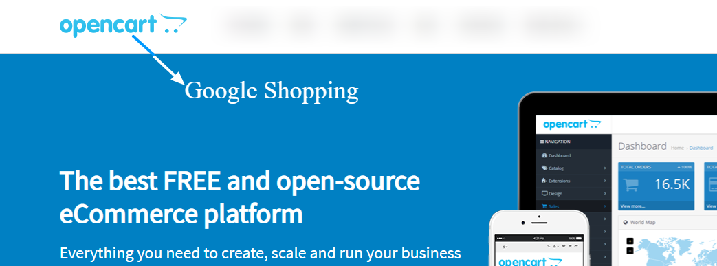 Export OpenCart to Google Shopping