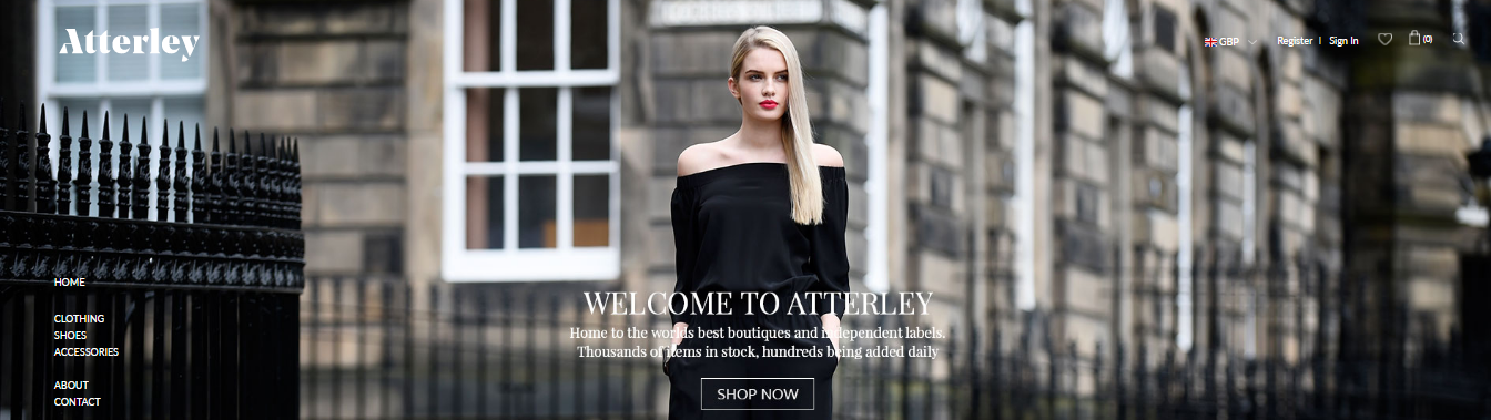 sell your boutique products on atterley
