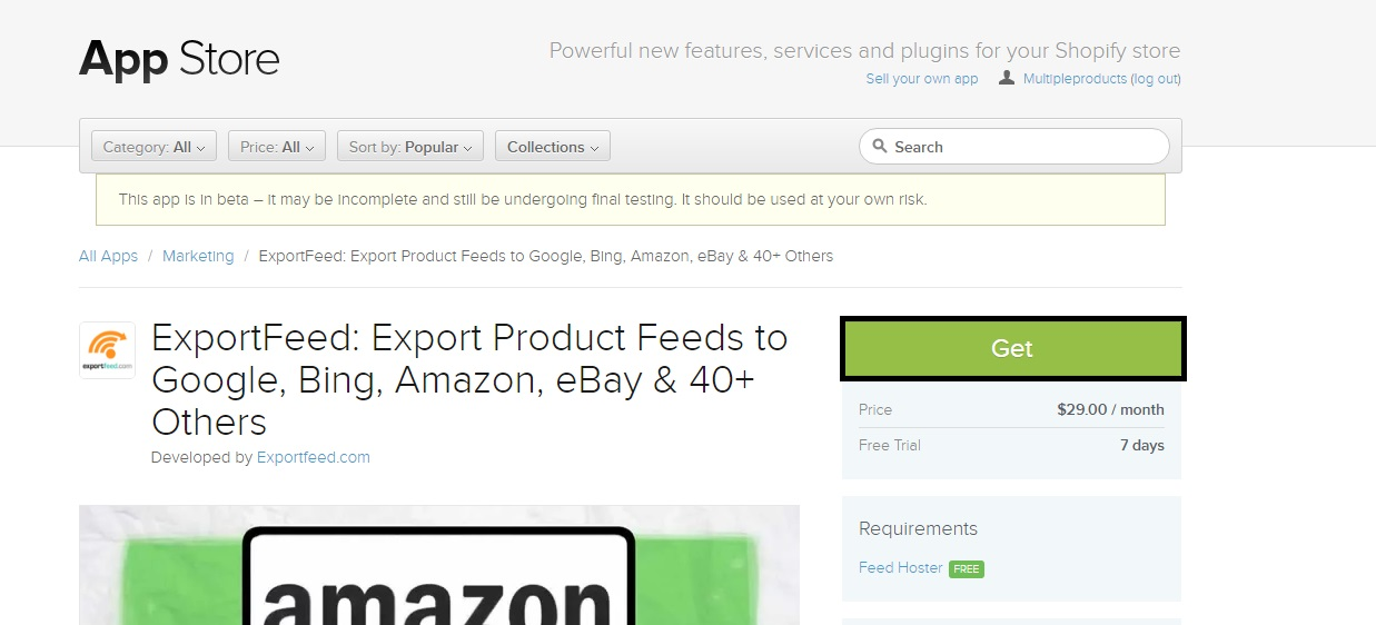 shopify-app-store-exportfeed-get