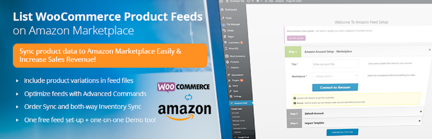 woocommerce to amazon both way inventory sync