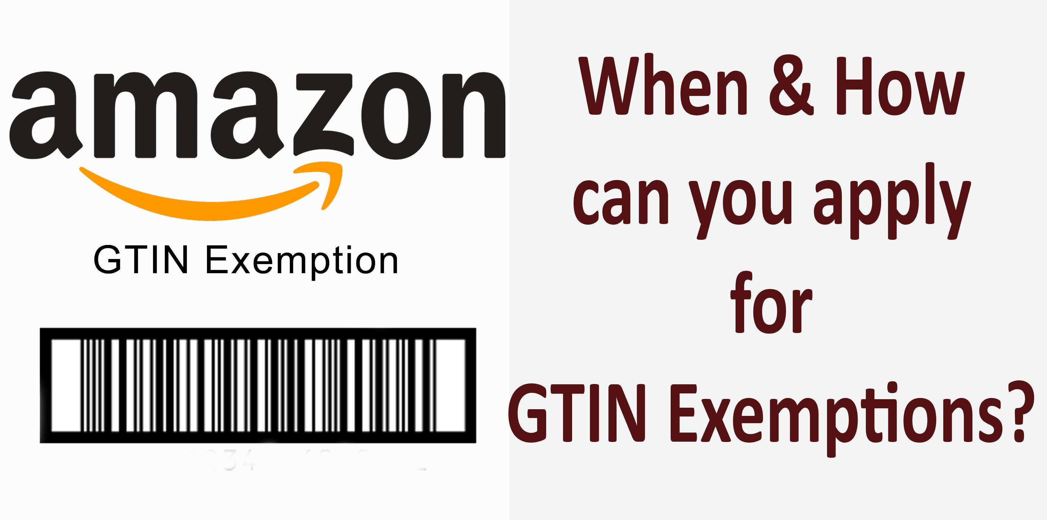 Amazon GTIN Exemption