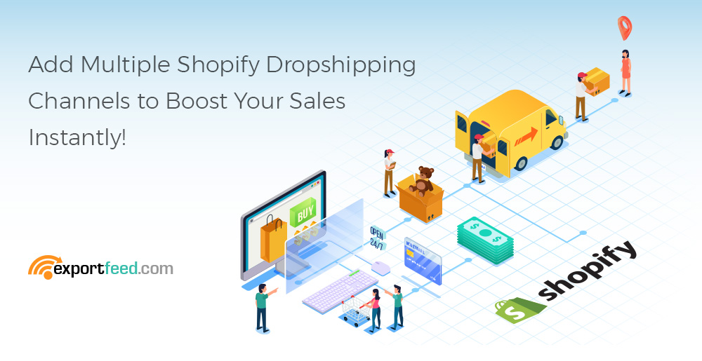 shopify dropshipping channels