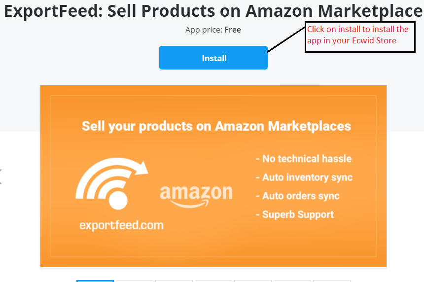 ExportFeed Amazon App for Ecwid