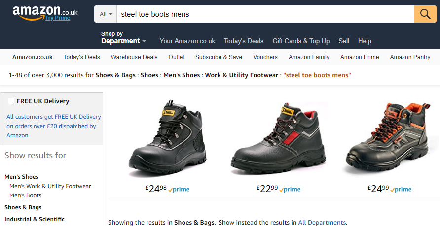 choosing amazon category for your products