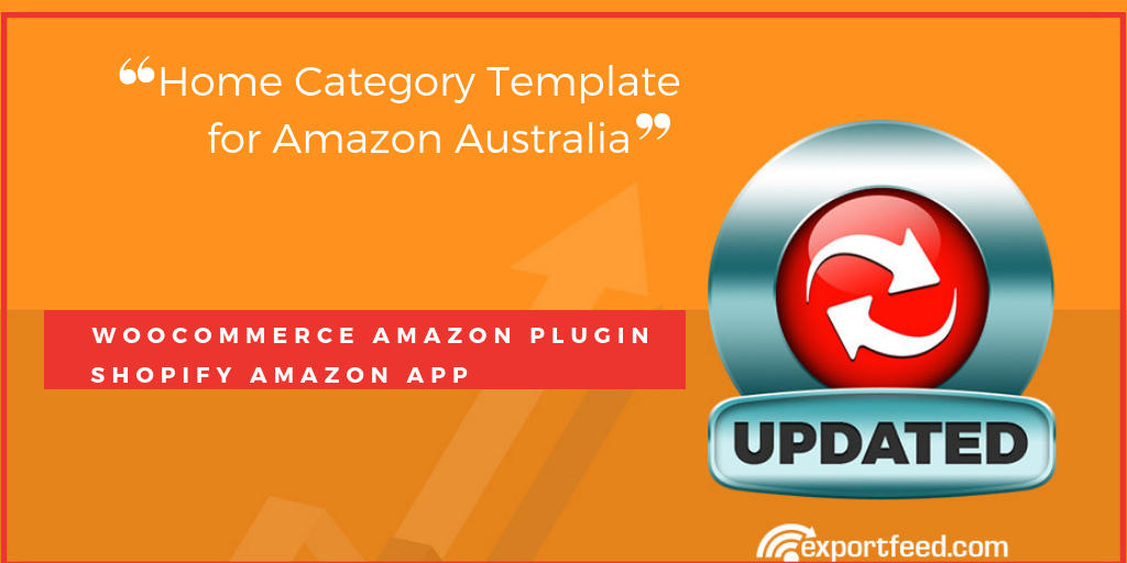 Home Category Template for Amazon Australia Updated!