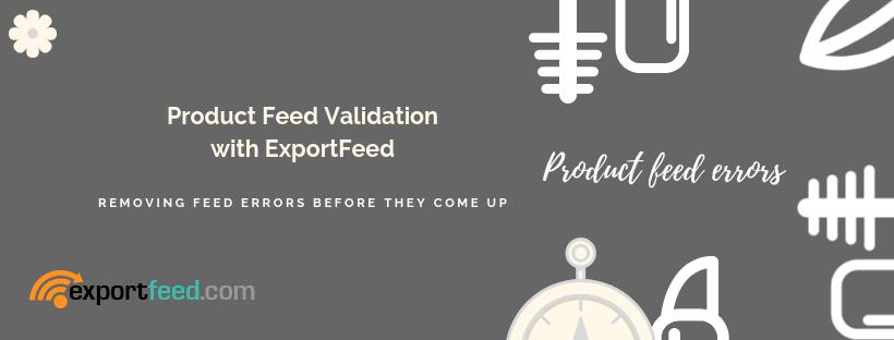 product feed validation