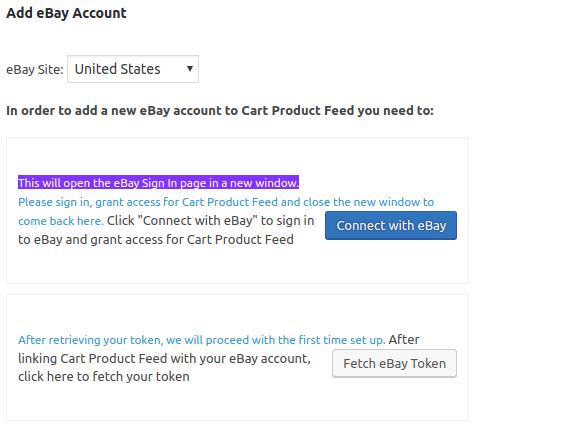 add ebay account