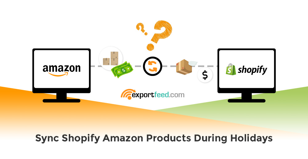 sync Shopify Amazon products