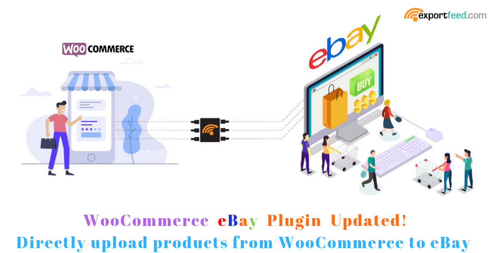 WooCommerce ebay direct upload