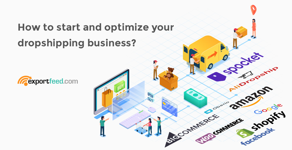 start and optimize dropshipping business
