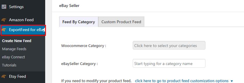ExportFeed for eBay