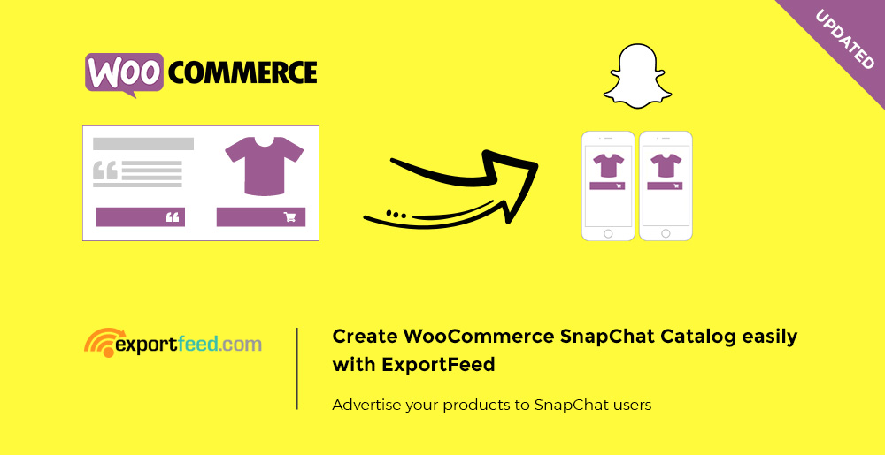 woocommerce to snapchat
