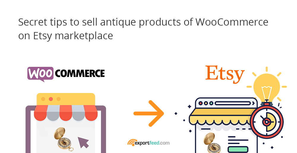 sell woocommerce based antiques on etsy