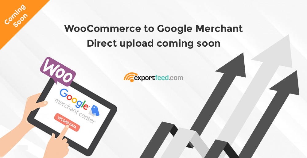 woocommerce google merchant direct upload