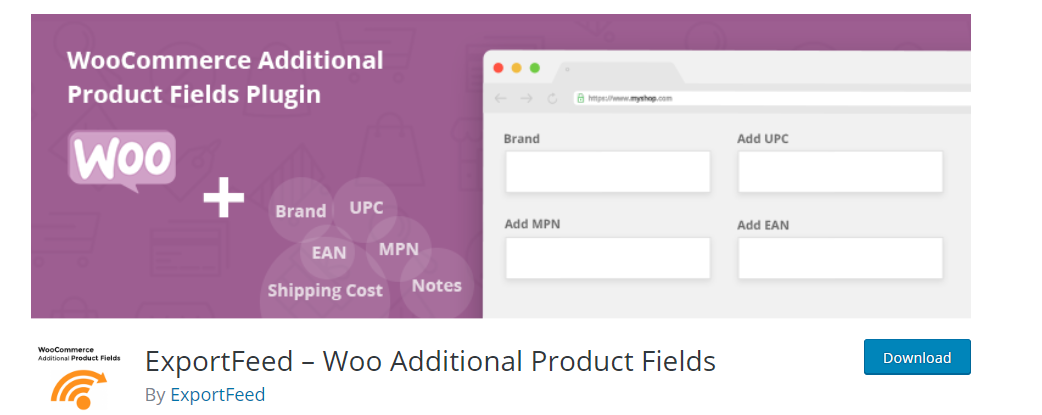 Woo Additional Product Fields