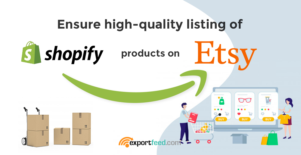 high quality listing of shopify products on etsy