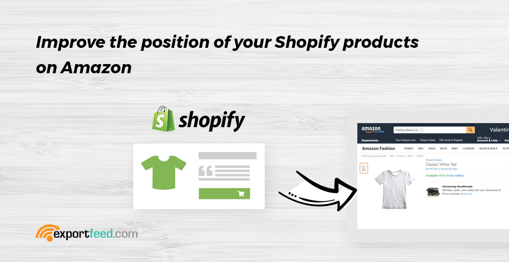 improve the position of shopify products on amazon