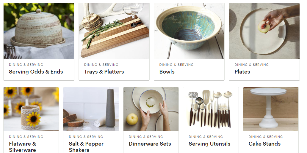 etsy kitchen and dining