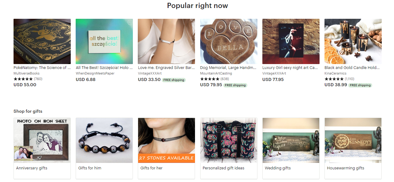 etsy top selling product for holiday featured image